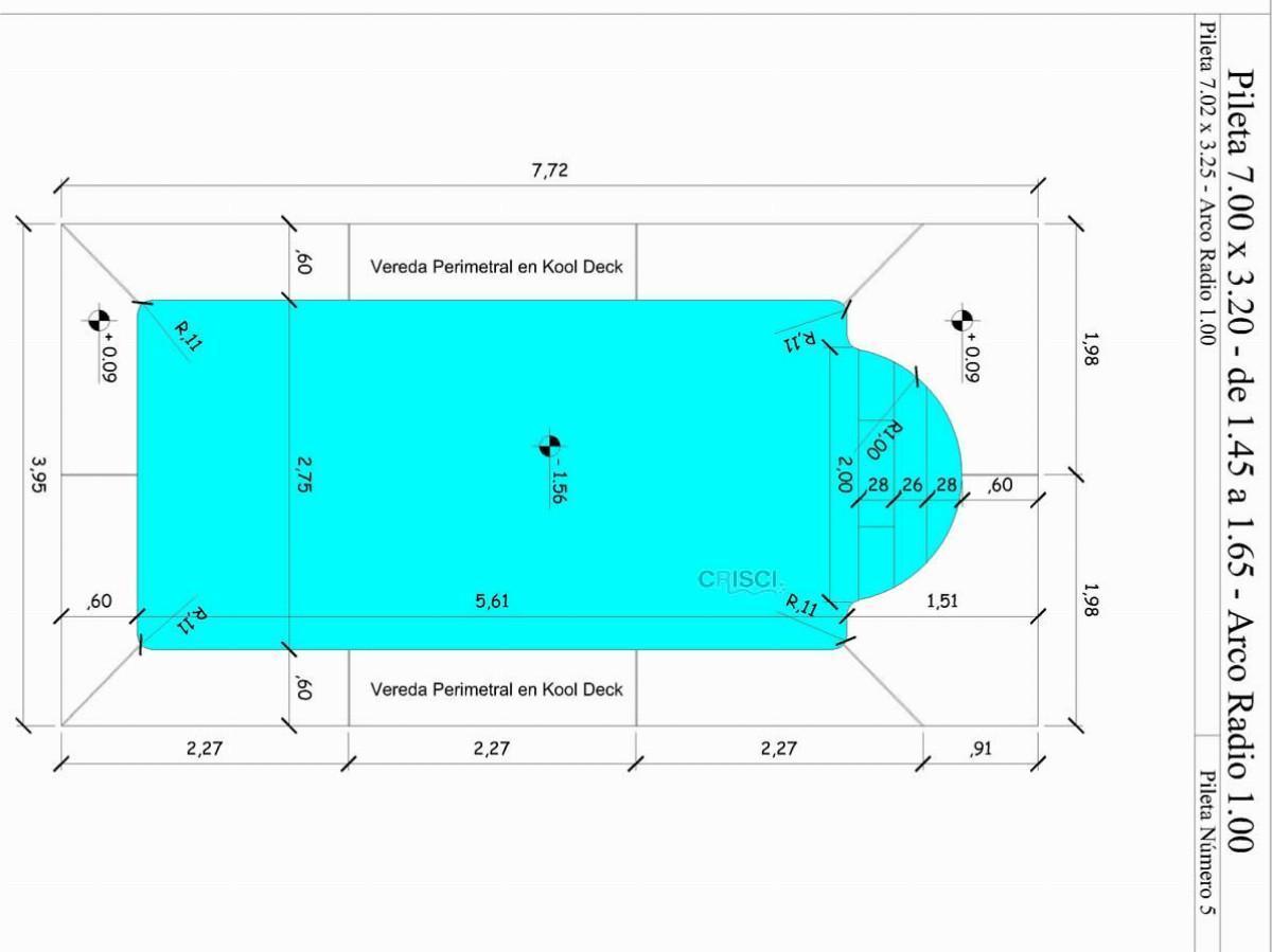 Piletas de fibra de vidrio piletas crisci financiaci n for Piletas de fibra de vidrio baratas